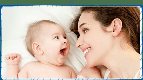 baby-lächeln